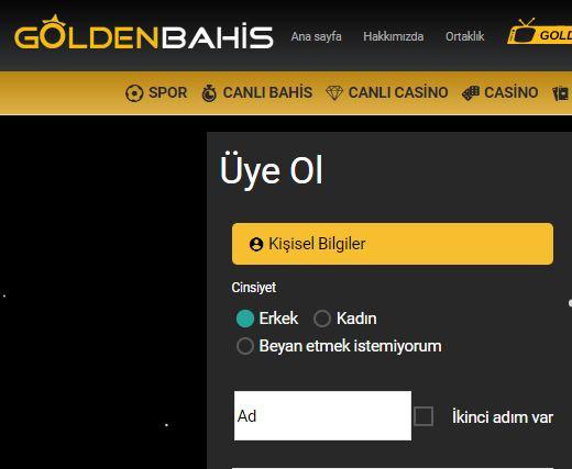 Goldenbahis üye ol