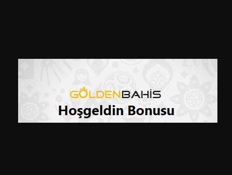 Goldenbahis hoşgeldin bonusu